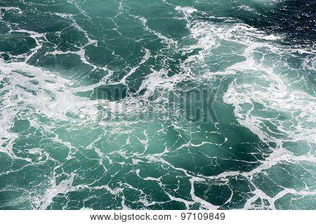 Foam In Seawater