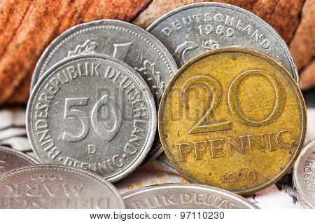 Pfennig Deutsche Mark Bundesrepubik Deutschland