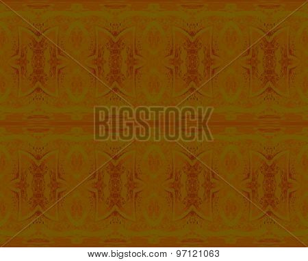 Seamless pattern olive green brown