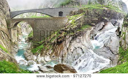 Devil's bridge, Switzerland