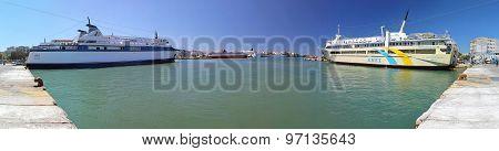 Port In Piraeus