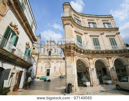 Basilica In Martina Franca, Italy