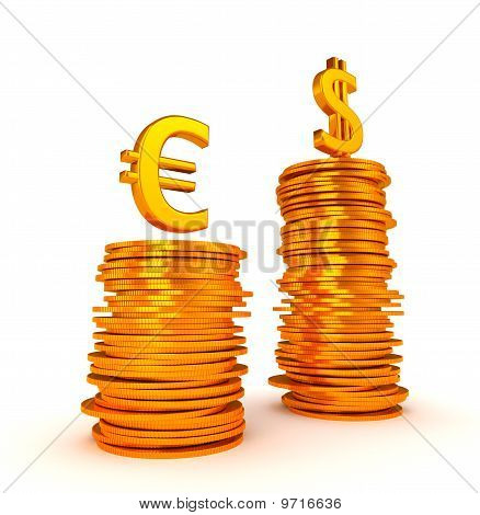 Us Dollar Currency Dominancy Over Euro