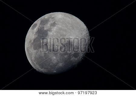 Waxing Gibbous Moon - Southern Hemisphere