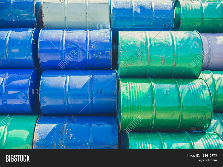 Steel Barrel Tank Oil Image & Photo (Free Trial) | Bigstock