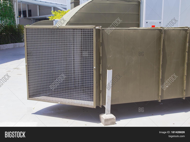 supermarket large air ventilation image & photo | bigstock