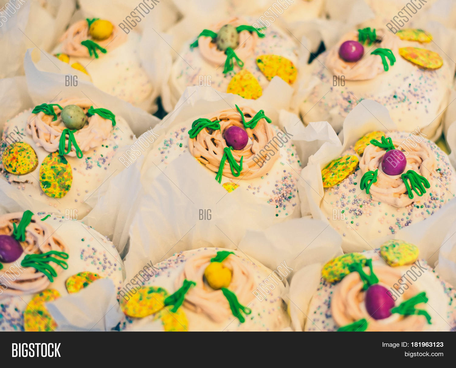 Easter Cake Russian Image Photo Free Trial Bigstock