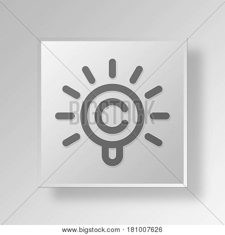 Gray Square intellectual property Symbol icon Concept