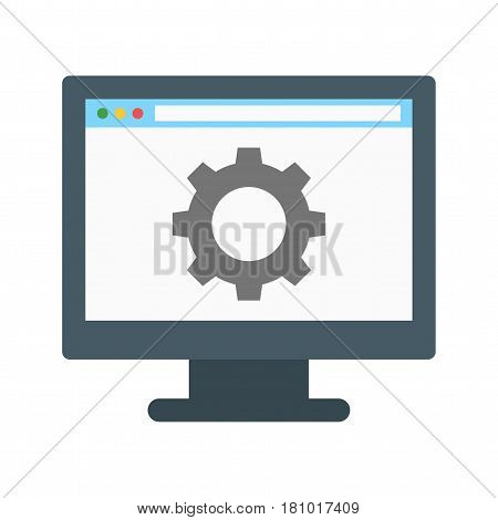 Configuration, control, setting icon vector image. Can also be used for business administration. Suitable for mobile apps, web apps and print media.