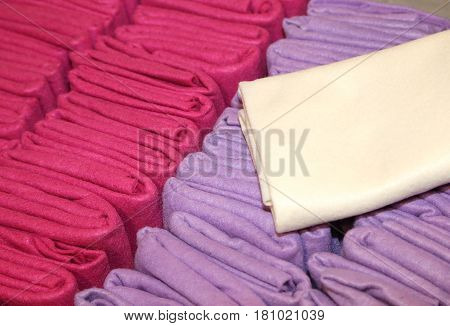 Purple Fabrics For Sale In The Store