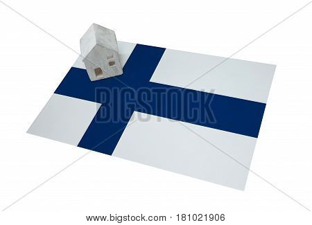 Small House On A Flag - Finland