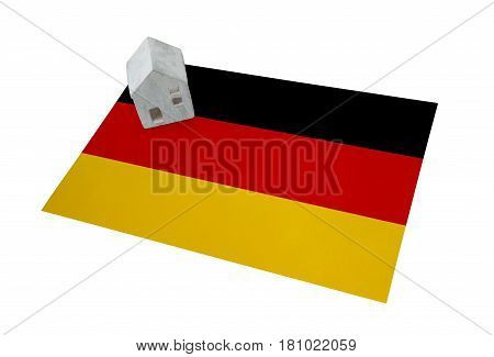 Small House On A Flag - Germany