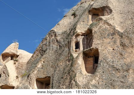 Detailed Tufa Cave View