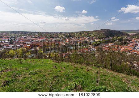 Dolni Kounice small town in South Moravia Czech Republic