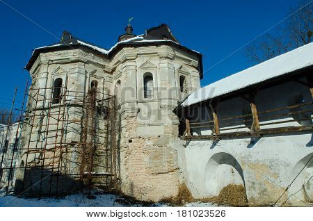 The Ancient Building Of The Kiev-pechersk Lavra..