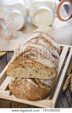 Home Made Bread From Organic Flour