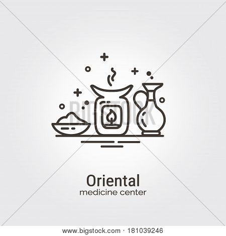 Oriental Medicine Center - Logo Template