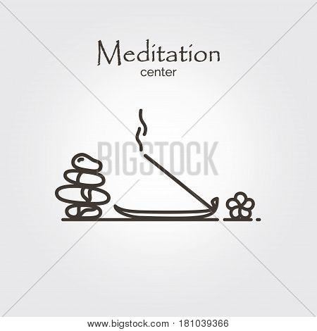 Meditation Center - Logo Template