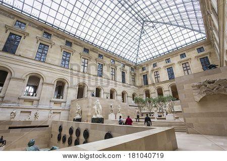 The Puget Square, The Louvre, Paris, France