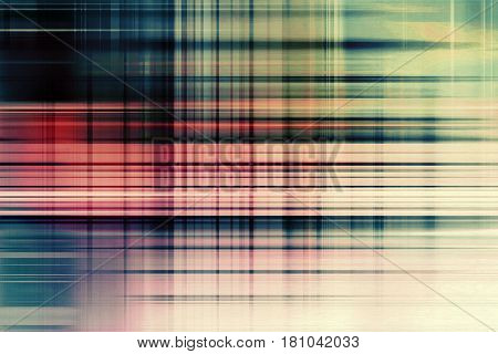 Desaturated blue and red speed blur lines background fading to white