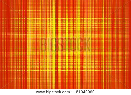Colourful orange and yellow grunge lines background