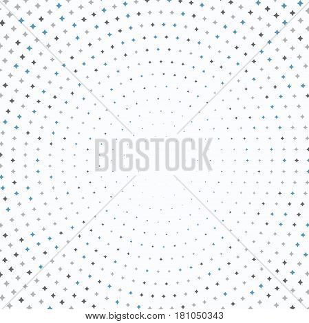 Geometric modern vector pattern. Fine ornament with colored stars. Geometric abstract pattern