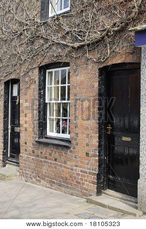 Brick Terraced Houses. England