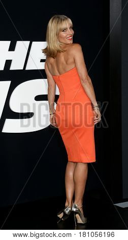 "NEW YORK-APR 8: Actress Elsa Pataky attends the premiere of ""The Fate of the Furious"" at Radio City Music Hall on  April 8, 2017 in New York City."