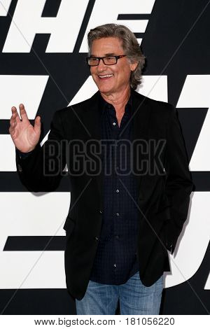NEW YORK-APR 8: Actor Kurt Russell attends the premiere of