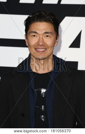 NEW YORK-APR 8: Actor Rick Yune attends the premiere of