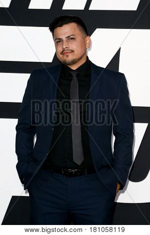 NEW YORK-APR 8: Actor Ricky Luna attends the premiere of