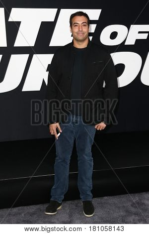 "NEW YORK-APR 8: Film producer Mohammed Al Turki attends the premiere of ""The Fate of the Furious"" at Radio City Music Hall on April 8, 2017 in New York City."