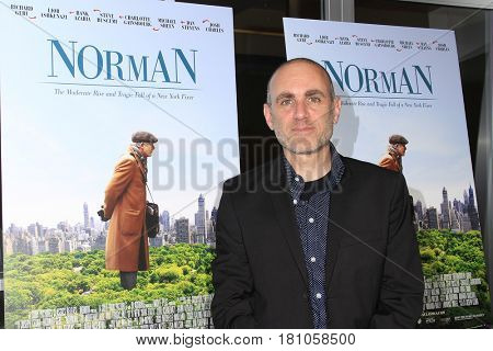 LOS ANGELES - APR 5: Joseph Cedar at the premiere of Sony Pictures Classics' 'Norman' at Linwood Dunn Theater at the Pickford Center for Motion Study on April 5, 2017 in Los Angeles, CA