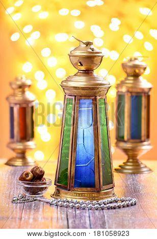 Ramadan Lantern Celebration Concept