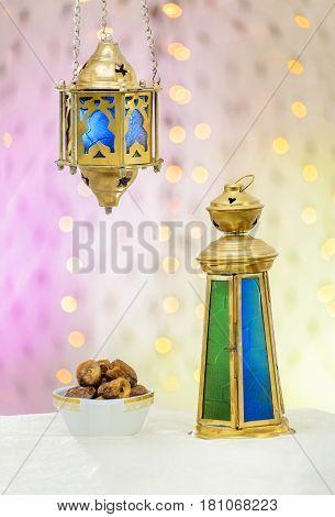 Ramadan Lantern With Dates