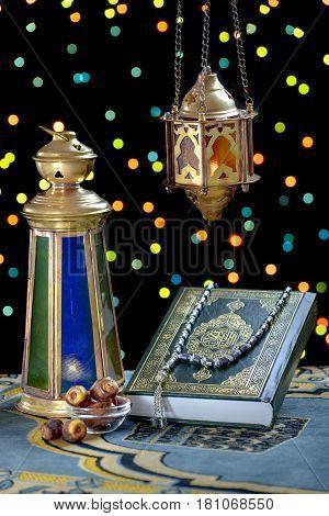Traditional Ramadan Objects