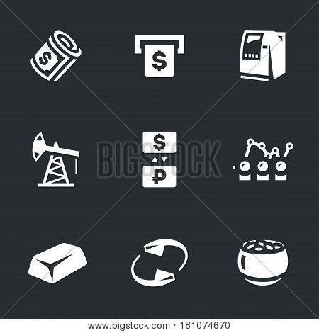 Money, investment, ATM, oil rig, currency, exchange, quotes, gold, return, wealth.