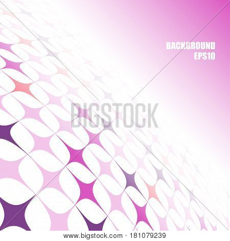 Abstract background with perspective and a slope