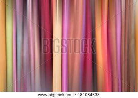 Background, rainbow fabric curtain. Abstraction striped color backdrop
