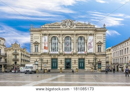 Theatre Of Opera And Comedy In Montpellier