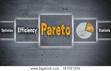 Pareto gray cement touchscreen concept background picture