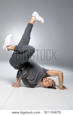 Young Handsome Breakdancer