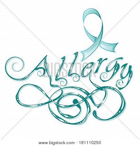 Decorative Word Allergy