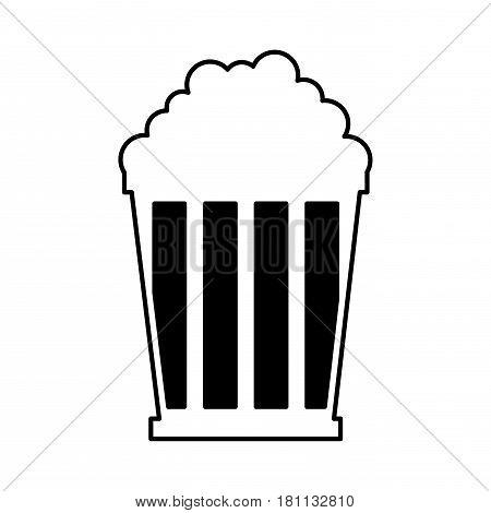 pop corn isolated icon vector illustration design