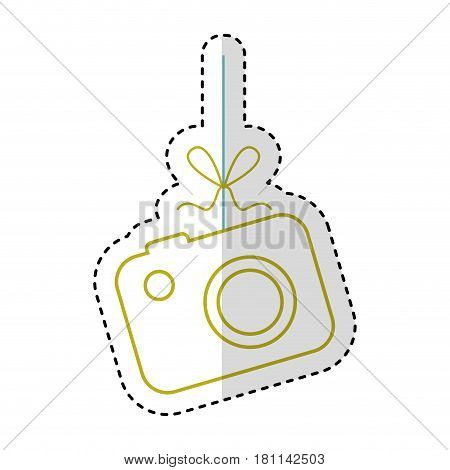 photographic camera isolated icon vector illustration design