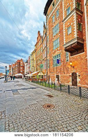 Embankment Of Gdansk