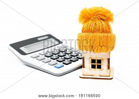 Expenses for house insulation. Little house in a cap calculator
