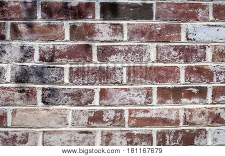 brick wall background with lines and shapes