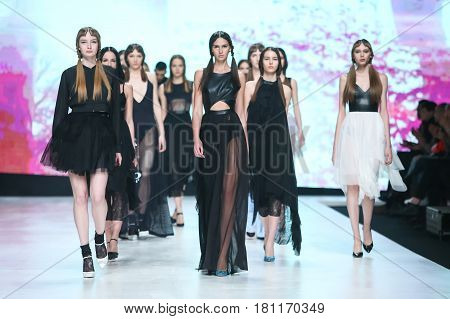 Bipa Fashion.hr Fashion Show 2017 : Yuniku, Zagreb, Croatia.