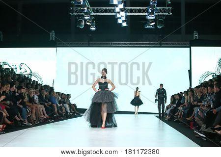 Bipa Fashion.hr Fashion Show 2017 : Luka Grubisic, Zagreb, Croatia.